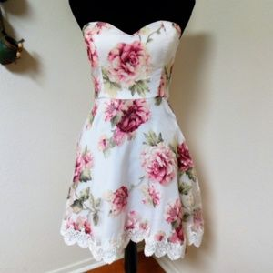 Urban Outfitters Minuet Floral Dress
